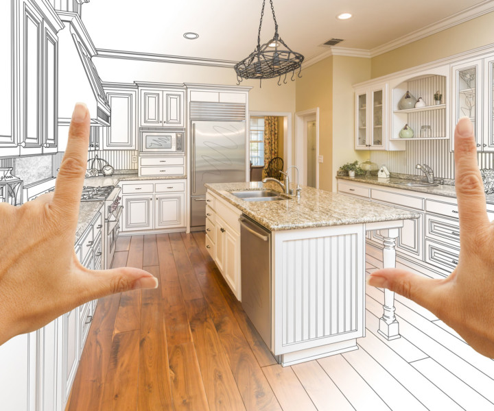 Let us help you envision your new kitchen!