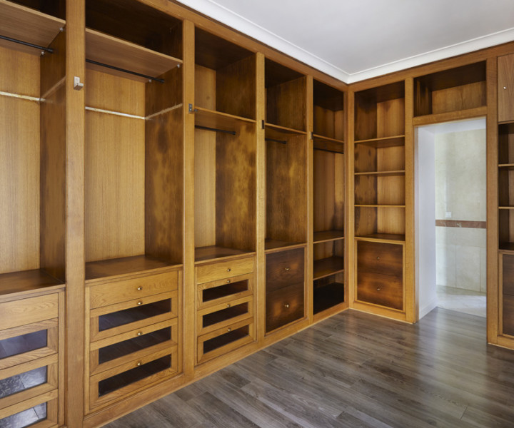 Designing the perfect walk-in closet!
