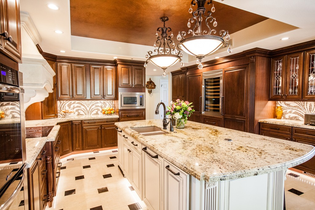award winning kitchen by homework remodels