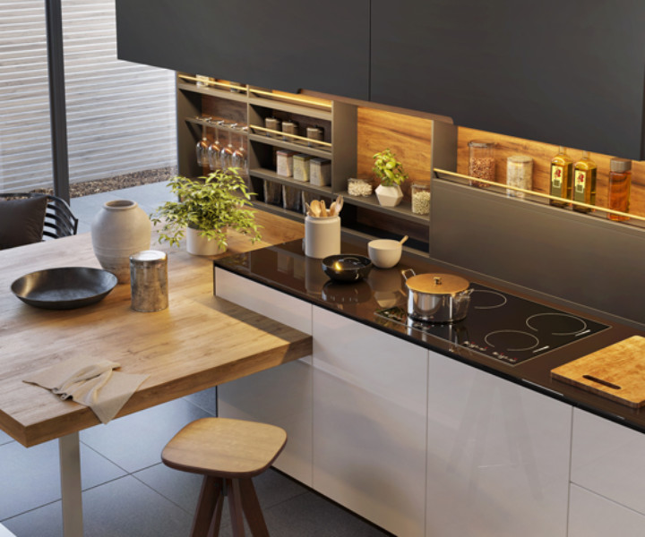 Trending Storage and Design for the Kitchen