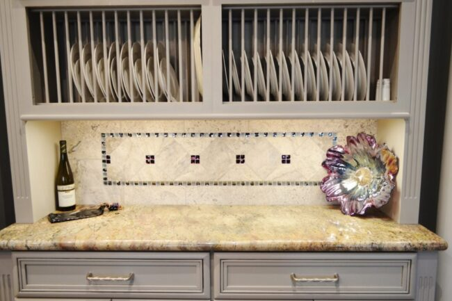 A Touch of Sparkle Backsplash